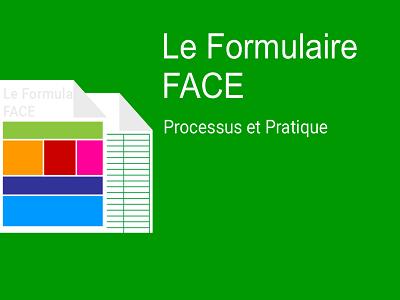 Formulaire d'autorisation de financement et certificat de dépense (FACE)