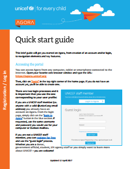 Quick start guide front page