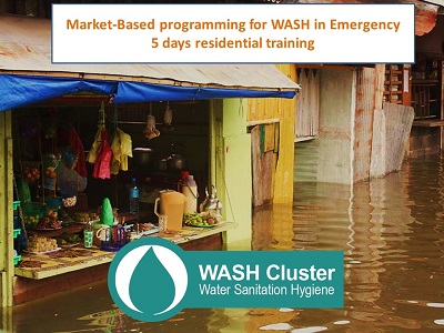 Market-based programming for WASH in Emergencies (GWC course #6)