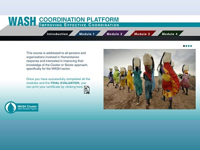 Introduction to Humanitarian WASH Coordination (GWC course #1)