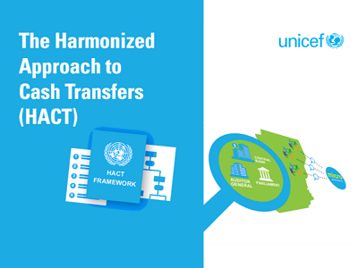 Harmonized approach to cash transfers (HACT)